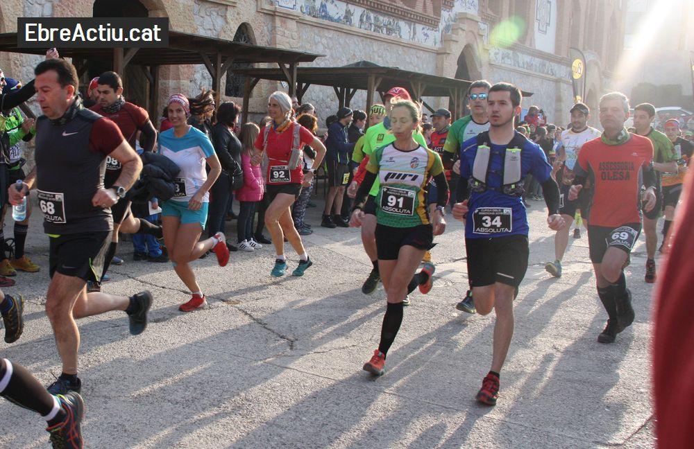Galeria d'imatges de la 6a Cursa dels Biberons de Pinell de Brai 24/02/2019 - sortida