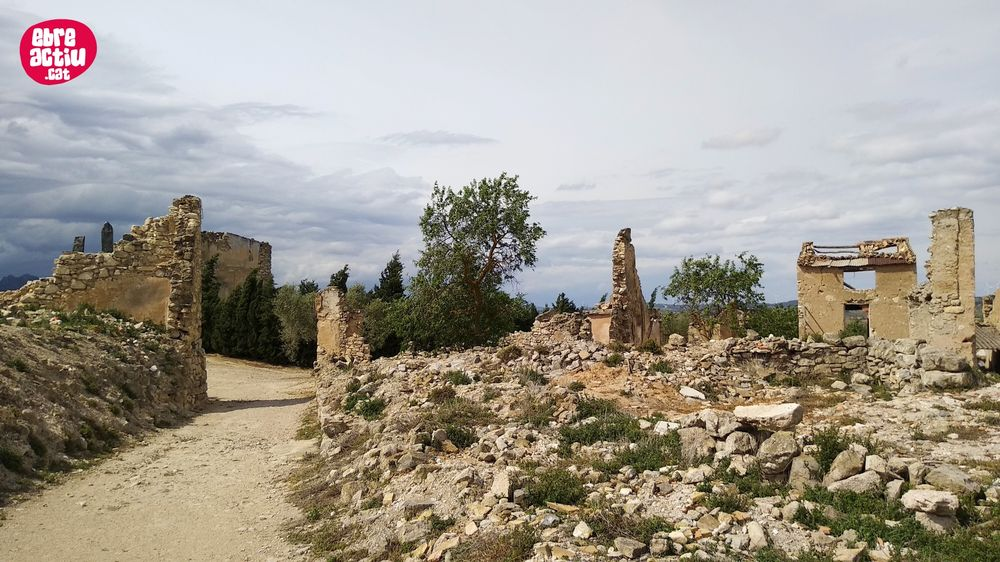 Poble Vell de Corbera d'Ebre i Biennal d'Art (abril 2019)