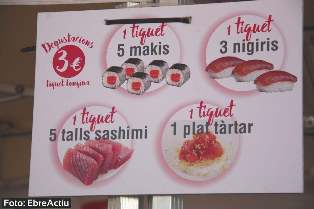 La tonyina roja, producte estrella de l'Ametlla de Mar
